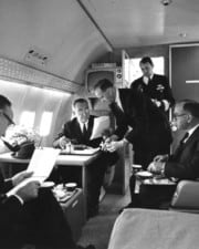 The President That Was Sworn Into Office on an Airplane: Air Force One Firsts and Facts
