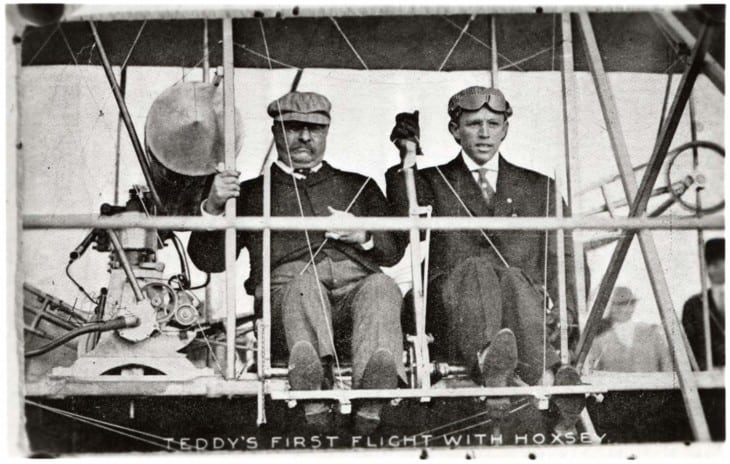 Theodore Roosevelt First Presidential Flight 1910