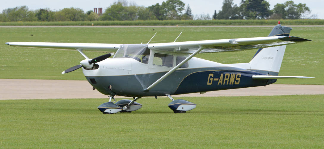 'G ARWS' Cessna 175C Skylark.