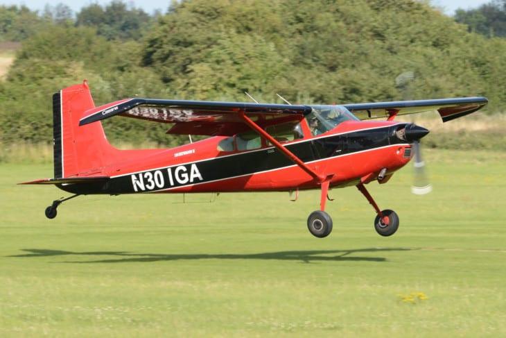 'N301GA' Cessna 180K Skywagon.