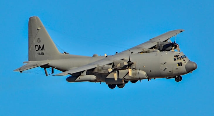 73 1580 Lockheed EC 130H Compass Call