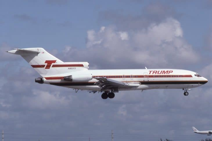 Boeing 727 25 of Trump Shuttle at KMIA