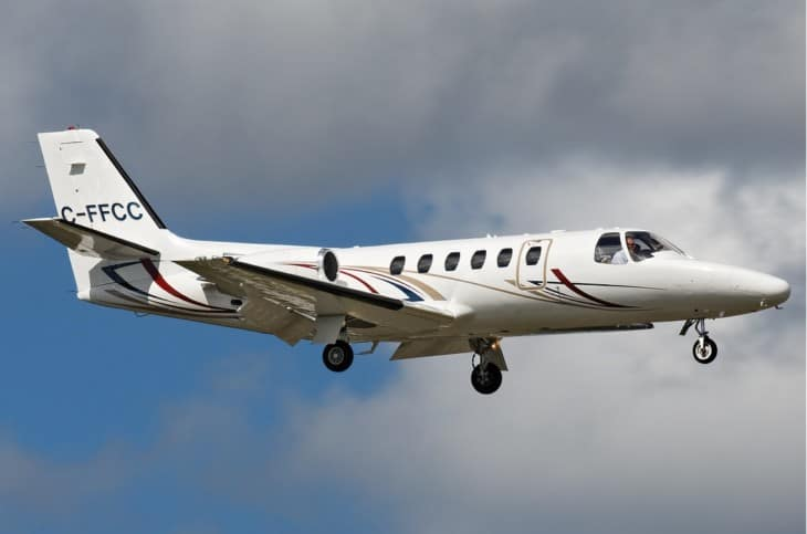 C FFCC Cessna 550 Citation II