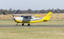 Cessna 210 Centurion VH KWS taxiing