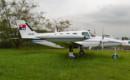 Cessna 411 at the Museum of Aeronautical Sciences