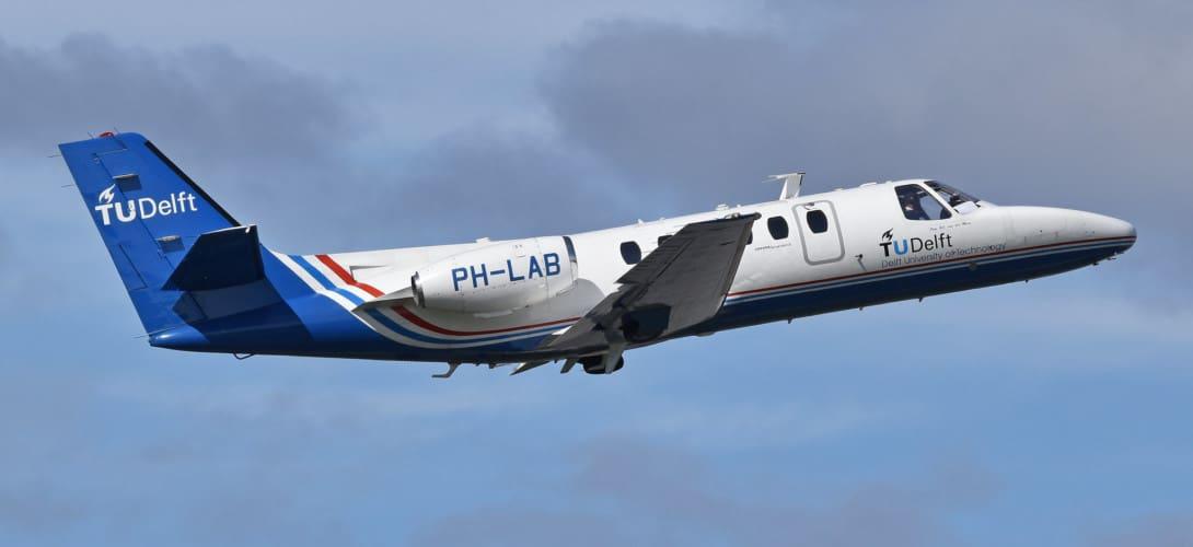 Cessna Citation II 'PH LAB'