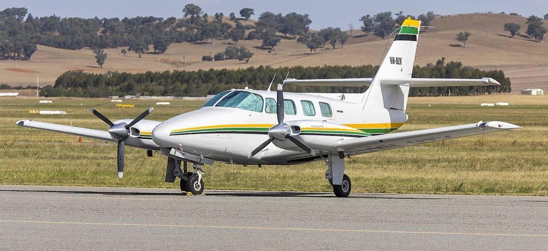 Cessna T303 Crusader VH UZX