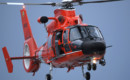 Coast Guard MH 65 Dolphin helicopter