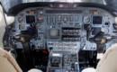 Cockpit of the 9th Cessna Citation 650
