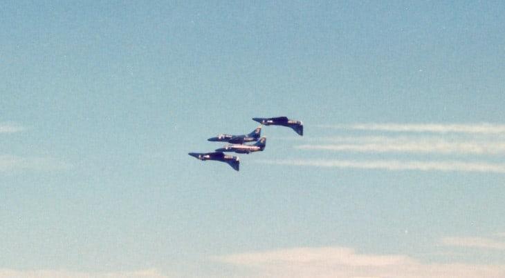 Douglas A 4 Skyhawks 1983 Blue Angels