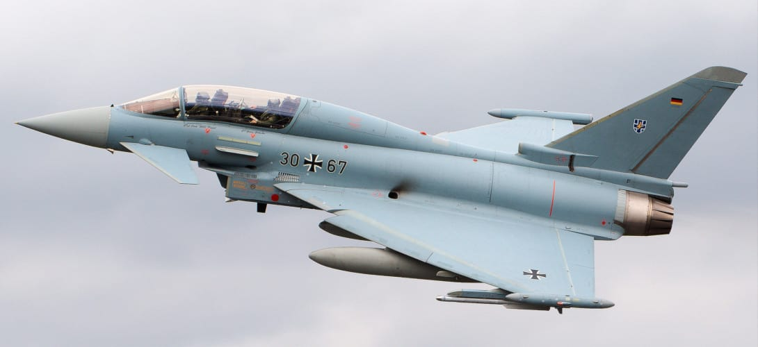 Eurofighter Typhoon at RIAT 2019
