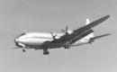 Lockheed XR6O 1 Constitution landing