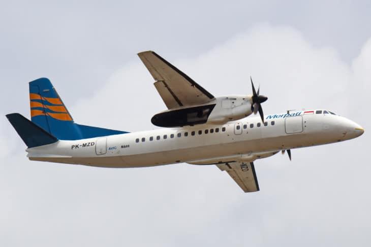 Merpati Nusantara Airlines Xian MA 60