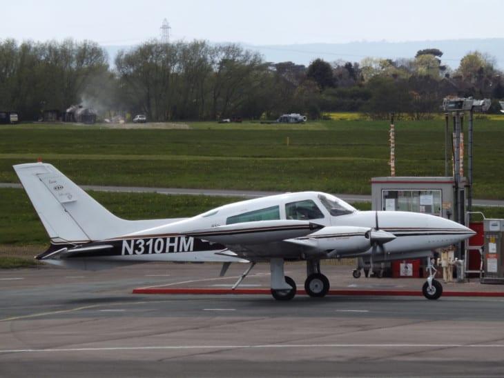 N310HM Cessna 310