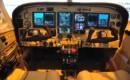N340AJ Cessna 340 Cockpit