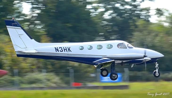 N3HK Cessna 340 II