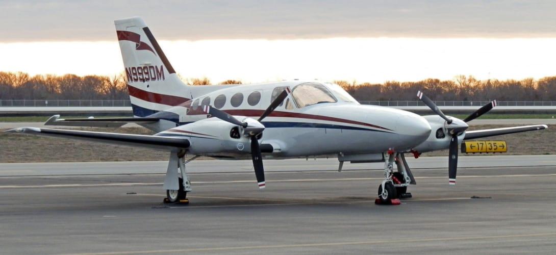 N999DM Cessna Golden Eagle 421
