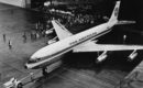 Pan Am Boeing 707 22Stratoliner22 roll out CLIPPER AMERICA N707PA
