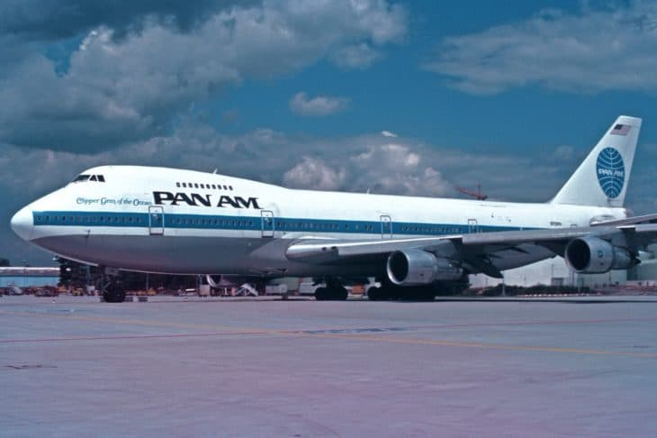 Pan Am Boeing 747 212B N730PA 22Clipper Gem of the Ocean22