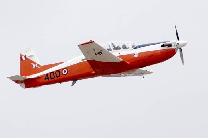 Peruvian Air Force KAI KT 1 Woongbi