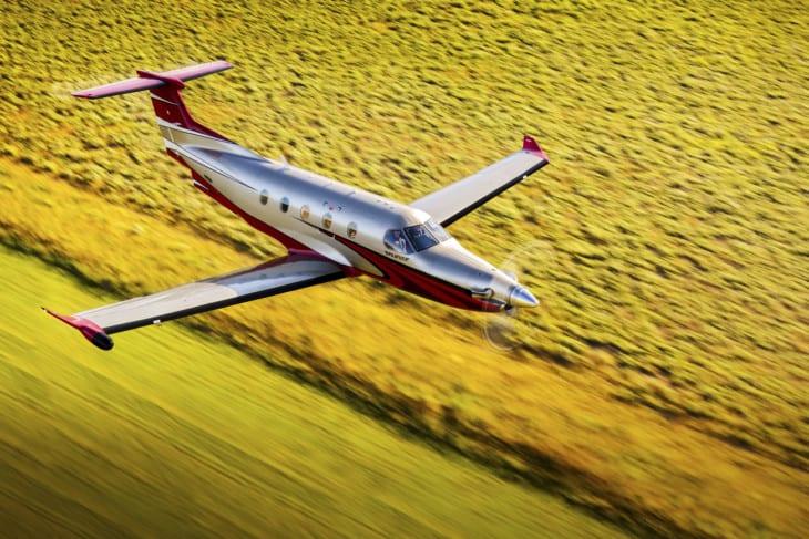 Pilatus PC 12 NG.