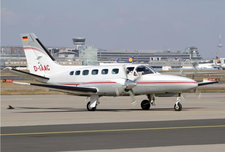 Quick Air Jet Charter Cessna 441 Conquest II
