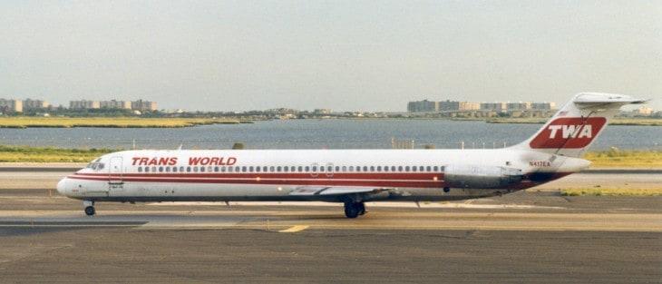 TWA McDonnell Douglas DC 9 51 at JFK