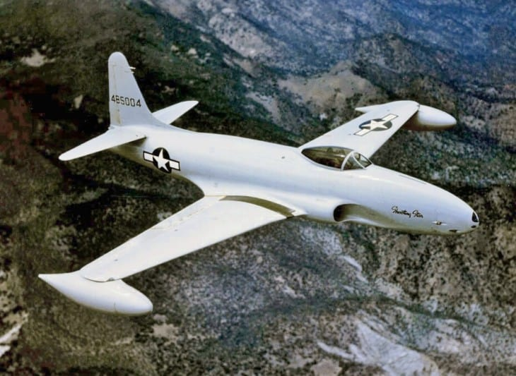 US Air Force Lockheed P 80 Shooting Star