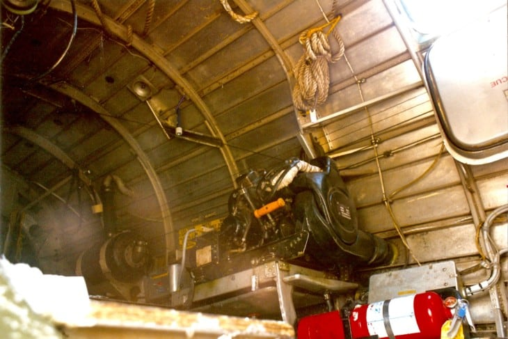 donkey engine in B 29A that runs electrical systems and can start engines