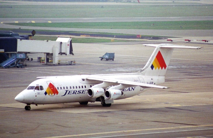 Jersey European Airways BAe 146 300