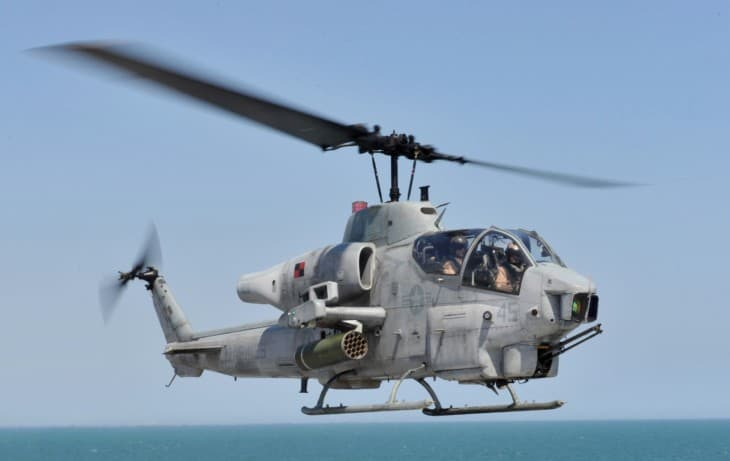 AH 1W Super Cobra assigned to HMLA.