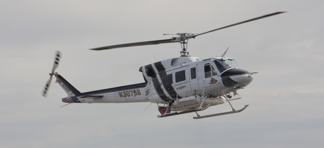Bell 212 San Bernardino County Sheriff.
