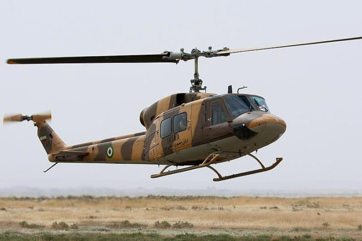 Bell 214 of IRIAA
