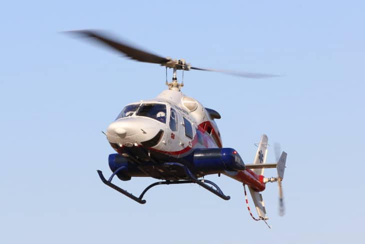 Bell 230 N830SF Life Flight
