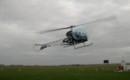 Bell 47 flying