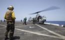 Bell AH 1 Cobra at USS Mesa Verde