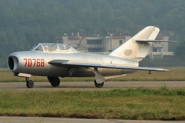 China airforce Shenyang J5