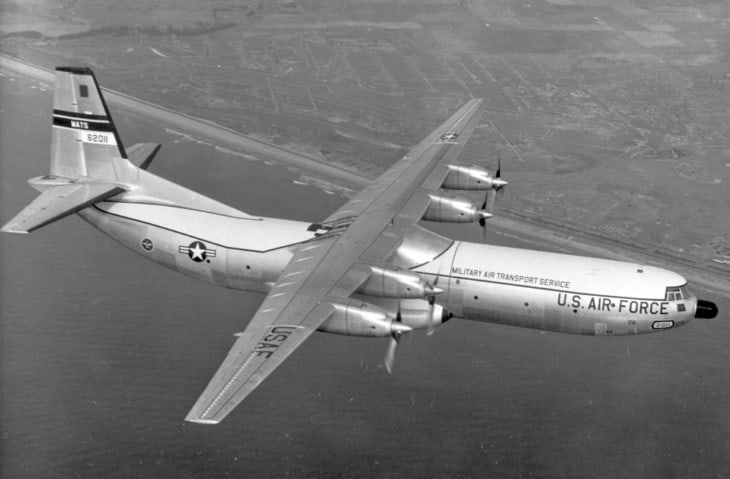 Douglas C 133A 25 DL Cargomaster