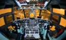 Douglas C 133A Cargomaster cockpit.