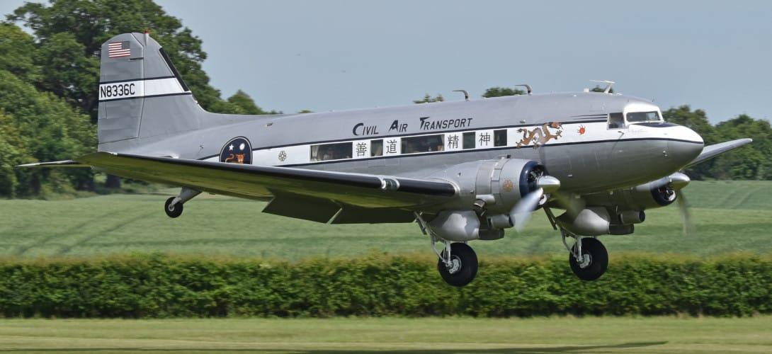 Douglas DC 3 S1C3G 'N8336C'.