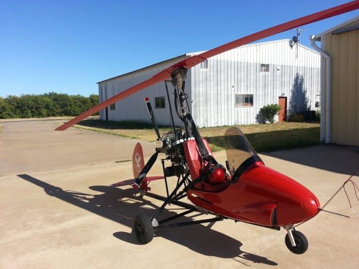 Gyrocopter ultalight