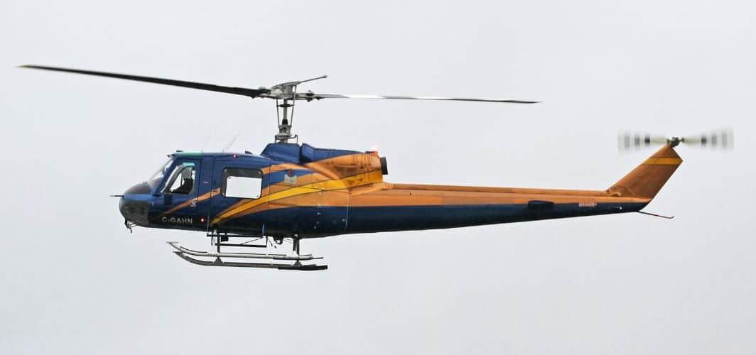 Kestrel Helicopters Ltd Bell 204B
