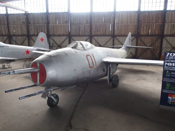 MiG 9 at Central Air Force Museum