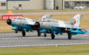 Mig 21 LanceRs at RIAT 2019 taking off