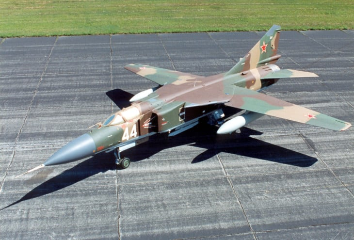 Mikoyan Gurevich MiG 23MLD Flogger K