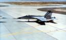 Northrop YF 17 on the flightline.