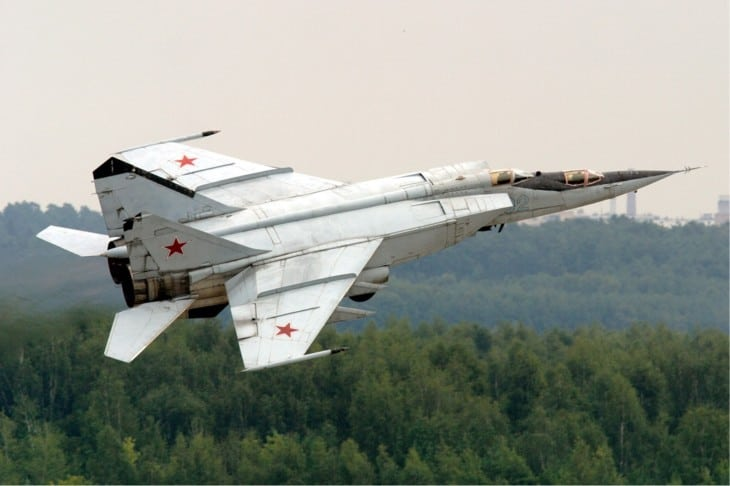 Russian Air Force MiG 25PU
