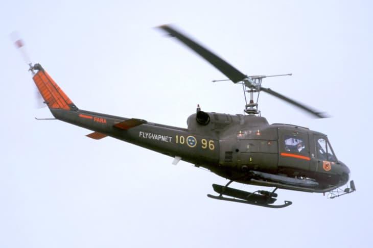 Swedish Air Force Agusta Bell 204B
