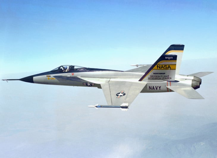 The Northrop Aviation YF 17.