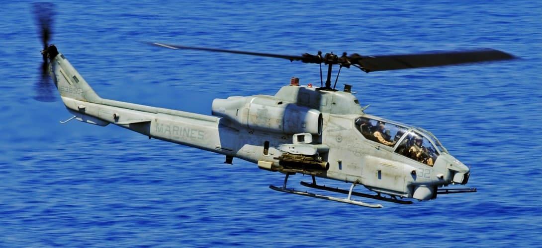 US Navy AH 1W Super Cobra
